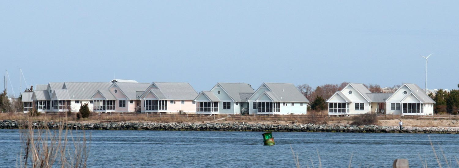 Cottages at Indian River Marina at Delaware Seashore State Park